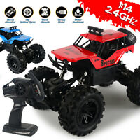 RC Car 1:14 2.4Ghz Off-road Racing Remote Control Monster Crawlers Truck Toys
