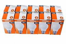10 x OSRAM Ampoule 100w E27 Mat Ampoule 100 Watt Ampoules Lampes