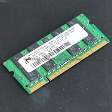 Micron 2GB PC2-5300 DDR2-667 667MHz DDR2 200pin Laptop Notebook memory So-DIMM