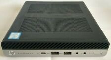 HP ELITEDESK 800 G3 MINI i7-7700 3.60Ghz 16GB RAM 512GB M2 SSD WIN10 Pro + Wifi