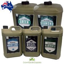 Set 20L Green Diamond A&B, Bio Diesel 5L, Aloevate 5L, Marine 5L Sensi Pro