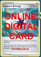 4X Capture Energy 171/192 Rebel Clash Pokemon TCG Online Digital Card