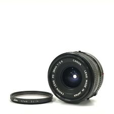 Canon NFD New FD 28mm f/2.8 MF Wide Angle Fixed Prime Lens w/ Filter GOOD TK05K