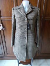 PESERICO KASHMIR/LANA (made in Italy) Cappotto Donna Women's Coat Tg IT 46