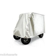 Golf Cart 2 Passenger Ivory Heavy Duty Storage Cover For Club Car EZGO Yamaha