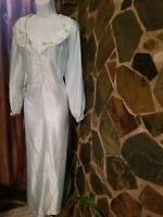 Vintage Women's  Barbizon Powder Blue soft Nightgown Size Petite
