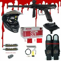 Tippmann MIDNIGHT Gryphon .68 CAL Paintball Gun Kit READY PLAY BLOOD PACKAGE