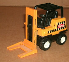 1/28 Scale Buddy-L Forklift Toy - Vintage 1980's Pressed Steel Play Vehicle