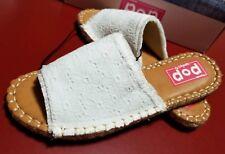 a1823c8109e78 POP INDO white Sandals JC Penny women s size 7.5