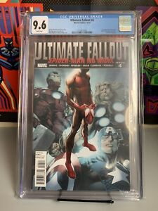 Ultimate Fallout 4 CGC 9.6 1st Print 1st Appearance of Miles Morales Spider🕷Man