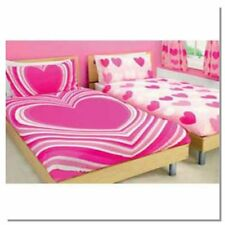 Single duvet cover set  With Pink Heart's