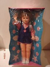 VINTAGE STAR DOLL CO 22 IN VINYL WALK WITH YOU DOLL EYES OPEN CLOSE PACKING BOX