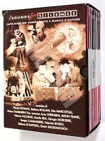 SOUNDS FOR SILENCE Repubblica 2010 COFANETTO RARO 11 DVD CINEMA MUTO e MUSICA