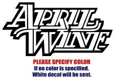 "April Wine band rock music Vinyl Decal Car Sticker Window bumper Laptop 7"""