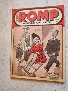 Romp march 1966 Bill Ward art  very fine condition magazine