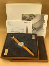 2001 Swatch Diaphane One Carousel Tourbillon - Grail Watch # 0653 of 2222 RARE !