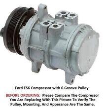 Ford Ranger LTD F250 F350   Many Others 82 - 91  OEM FS6 AC Compressor 6 Groove