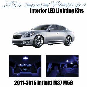 XtremeVision Interior LED for Infiniti M37 M56 2011-2015 (10 PCS) Blue