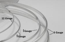 935 ARGENTIUM Sterling Silver Wire Coil HALF-ROUND 0.5-20ft 6g-22g Dead Soft USA