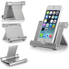 Aluminum Multi-angle Holder Stand For iPad Tablet iPhone eReader kindle Phone