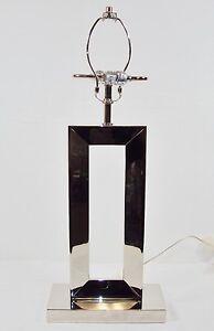 "Table/Desk Lamp ~ Open Window Style Metal Frame ~ 2 Bulb ""S"" Cluster ~ #2840890"