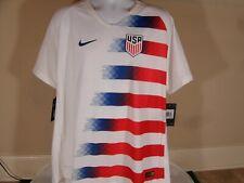 New Nike Usa Team Us Slim Fit Home VaporKnit Match Soccer Jersey 2018-19 2Xl
