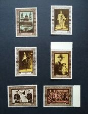 George Vi - Selection (6) of Coronation Souvenir Labels. U/M, Mnh