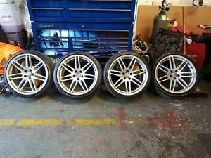 """Audi A5 S5 RS5 20"""" Alloy Wheels 265/30/20 All Good Tyres"""