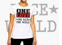 One Love t-shirt, save the Planet, resist!, World Peace, 2020 new cotton tee