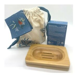 Liz Earle Rosemary And Thyme Botanical Hand And Body Cleansing Soap With Dish