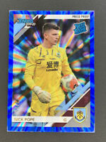 2019-20 Panini Chronicles Nick Pope Rated Rookie Blue Press Proof SP 39/75