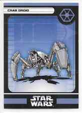 2006 Star Wars Miniatures Crab Droid Stat Card Only Swm Mini