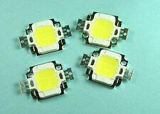 10pcs 10W Cool White LED  9-12v, 1Amp, 800-900LM, 6000-6500K, 140 degrees