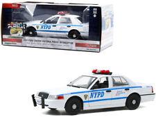 Greenlight 2011 Ford Crown Victoria Police Interceptor 1/24 White 85513