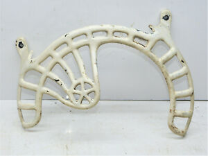 Vintage New Home Treadle Sewing Machine Cast Iron Pulley Dress Guard INV15116