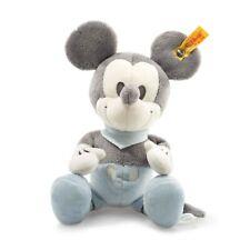 Steiff Mickey Mouse 23 cm grau-blau-weiß