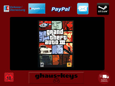 Grand Theft Auto III 3 Steam Key PC Game Download Code NEW LIGHTNING SHIPPING EU