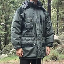 Vintage Scandia Woods Green Heavy Men's Sportsman's Jacket (XL) Removable Hood