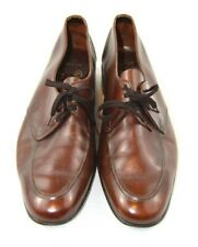 Men's Vintage Brown Bally Dress Shoes Dawson Continentals 558 Size 6.5 M Nice