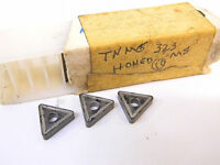 NEW SURPLUS 8PCS. (UNKNOWN)  TNMG 323  GRADE: MS  CARBIDE INSERTS