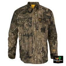 NEW BROWNING WASATCH CB SHIRT LONG SLEEVE BUTTON UP REALTREE TIMBER CAMO