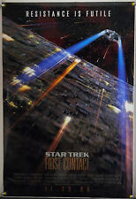 STAR TREK: FIRST CONTACT DS ROLLED TSR ORIG 1SH MOVIE POSTER ALICE KRIGE (1996)