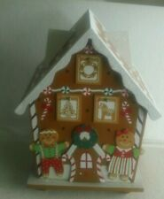 Wooden Gingerbread House Countdown to Christmas Advent Calendar, Germany