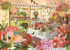 The House Of Puzzles - 1000 PIECE JIGSAW PUZZLE - Flower Show