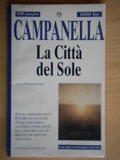 La città del soleCampanella TommasoNewton1995TEN 228 Baldini filosofia 216