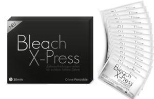Bleaching-Streifen Bleaching Set OHNE PEROXID Zahnweiß-Streifen TOP QUALI