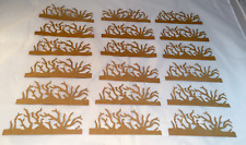 Tim Holtz Die Cuts: Twigs * Kraft Cardstock * Set of 18 * Sizzix 657183