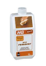 HG Wooden Floors Parquet & Hard Wood Wax Remover Removes Parquet Wax 1 Litre