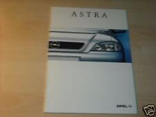 11441) Opel Astra Belgien Prospekt 1998
