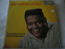 FATS DOMINO SWINGS VINYL LP ALBUM 1959 IMPERIAL REC. MONO THE FAT MAN, GOIN HOME